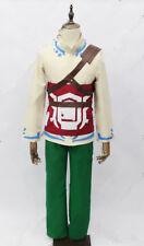 Legend of Zelda Skyward Sword Skyloft Link Cosplay Costume {12}