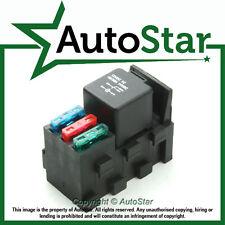 Relay & 3 Fuse Base Kit - 4, 5 PIN & Flasher Relays, ATO Fuses Holder Socket Box