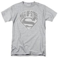 Superman Man Of Steel Shield T-shirts for Men Women or Kids