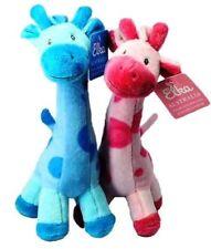 1pc Giraffe - Pink or Blue by Elka stuffed animal toy for baby, 22cm soft cuddly