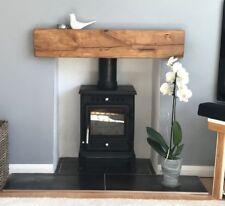 SOLID OAK BEAM Fireplace Mantle Shelf Air Dried Lintel Mantelpiece Contemporary