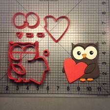 Heart Owl 100 Cookie Cutter Set