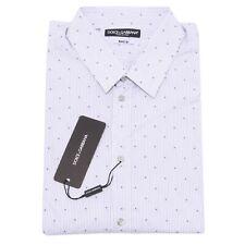 7578Q camicia uomo DOLCE&GABBANA MARTINI D&G manica lunga shirt men