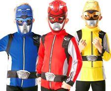 Beast Morphers Kids POWER RANGERS Fancy Dress Superhero Costume Boys Girls Kids