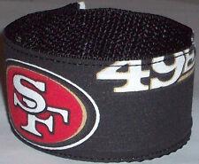 San Francisco 49'ers Wristband Pro Football Fan Game Gear Team Apparel NFL Shop