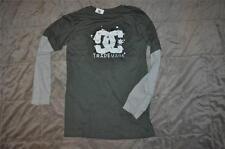 DC Shoes Boys Long Sleeve Boomer 2Fer T-Shirt ADBKT00105 See Sizes Green NWT