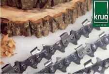 """SET Sägekette KRUG Halbmeissel(325""""-1.5mm-64TG),Profi C,2 Stück,f. 38cm Schwert"""