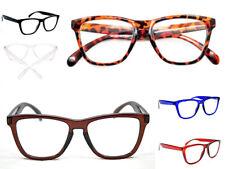 Geek/Nerd Retro Fashion Large Framed Unisex BIG Reading Glasses 7 Colours  9130
