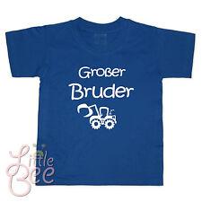 T-Shirt m. Aufdruck Großer Bruder - BAGGER - Wahl: WUNSCHNAME, Farbe, Größe -NEU