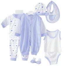 Newborn Baby Girl Boy Pajamas Shirt+Pants+Hat+Bid Outfit Infant Clothes 8x/Set