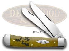 CASE XX Antique Bone Eagle Trapper 1/500 Pocket Knife Knives