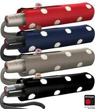 Knirps Mini Regenschirm Taschenschirm Fiber T2 Auf-Zu-Automatik Punkte - Dot Art