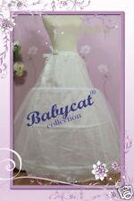 JUPE EN CRINOLINE 3 anneaux Jupon Petticoat s'adapte à Robe de mariée gr. 32-46