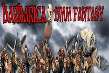 Figura de fantasía barbarica 15mm Mark Copplestone nuevo anuncio de varios
