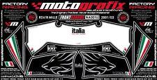 Aprilia RSV 1000 R Mille 2001 02 03 Front Fairing Number Board 3D Gel Protector