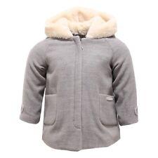 3038V cappotto bimba girl NANAN grey jacket coat