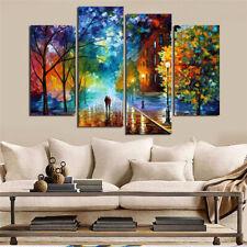 Decorative painting  inkjet craft painting Van Gogh street lamp tree landscape