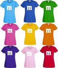 Für M&M Kostüm Fans T-Shirt Karneval Fasching Darts Gruppenkostüm Herren Damen