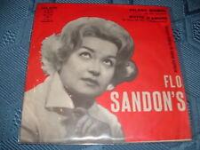 "FLO SANDON'S ""VELENO BIONDO-NOTTE D'AMORE"" ITALY'60"