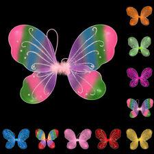 Girls Fairy Wings Butterfly Costume Halloween Angel Pixie Fancy Dress 35x42cm