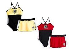 Zero Xposur Girls Swimsuit Skirt 2 Pieces Nylon Spandex Multi plus size 14.5 NEW