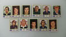 PANINI WORLD CUP 1974 SCOTLAND SCOTTISH A&BC SELECT UNUSED STICKER