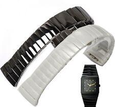 29mm 26mm men / 20mm 17mm lady Ceramic Band Strap bracelet (FITS) RADO SINTRA