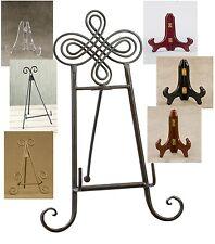 *New- Tripar Tabletop (Metal & Premium Wood) Display Stands / Easels -Home Decor