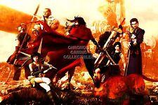 RGC Huge Poster - Final Fantasy VII Dirge of Cerberus PS1 PS2 PS3 PSP - FVII029
