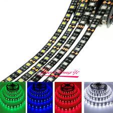 12V 5M 5050 60LED/m 300LED Strip Light car DRL DIY tape lamp Black Waterproof
