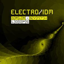 Electro IDM EDM Drum & Synth Loops (24-Bit WAV) FL Studio Ableton Live Logic Pro