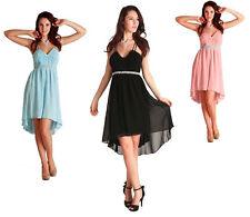 Evening Cocktail Party Bridesmaids Dress Valentine Black Blue Pink SZ 8 10 12 14