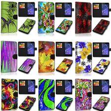 Design Custodia per Cellulare Book GUSCIO COVER CASE SVH-Colourful per Wiko upulse Lite