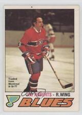 1977-78 O-Pee-Chee #281 Jimmy Roberts Montreal Canadiens Hockey Card