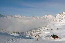 ALPE D'HUEZ SKI RESORT Rhône-Alpes France Photographie Photo Poster Art Print