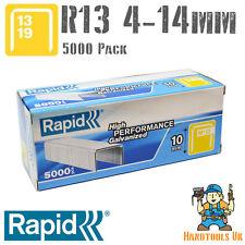 Rapid R13 (13 Series) Fineline Staples 4,6,8,10 & 14mm (R13, R23, R30 & R33)