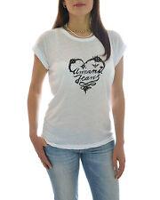 ARMANI JEANS T-shirt con stampa cuore in SALDO