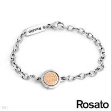 ROSATO Made in Italy New Gentlemens Bracelet in Stainless Steel