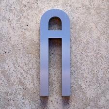 Modern  Aluminum Comtemporary Font  Letter A