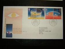 1991 EUROPA IN SPACE RM FDC & BUREAU SHS CV £4.50
