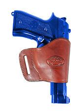 Barsony Burgundy Leather Yaqui Gun Holster for FN, GLOCK, HK 9mm 40 45 Full Size