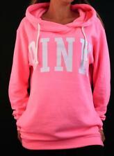 Victoria's Secret PINK Hoodie Sweatshirt Fleece Pullover Boyfriend NWT