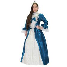 DAMINA costume CARNEVALE bambina con cerchi e corona tg. 5/6 anni PEGASUS srl