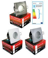 230V LED Feuchtraum IP65 Deckenstrahler 7W = 52W Badezimmer & Dusche + GU10 LM
