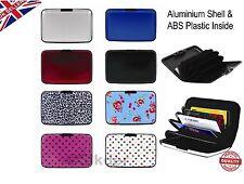 New Aluminium Credit Card Wallet ID Holder Purse Case Pocket Waterproof -UK