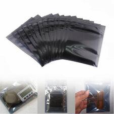 10/30Pcs Anti-Static Shielding Zip Lock Storage Self Seal Antistatic Bags 3 Size