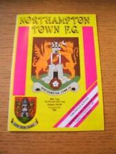 03/09/1985 Northampton Town v Peterborough United [Football League Cup] (Team Ch