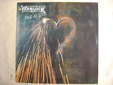 """WARLOCK """"TRUE AS STEEL"""" - LP"""