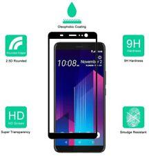 3D Full Screen Cover HTC 10/ U11/Ultra /Play/Evo Tempered Glass Screen Protector