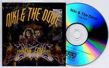NIKI & THE DOVE The Fox 2011 UK 3-track promo test CD Sub Pop